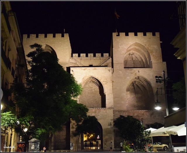 Torres de Serranos (Valencia, Comunidad Valenciana, España, 12-6-2021)