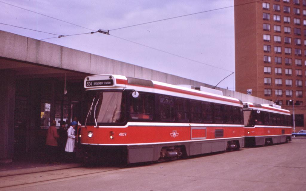 11052T - Toronto Transit 4109 - Dundas West Station - 25 May 1983