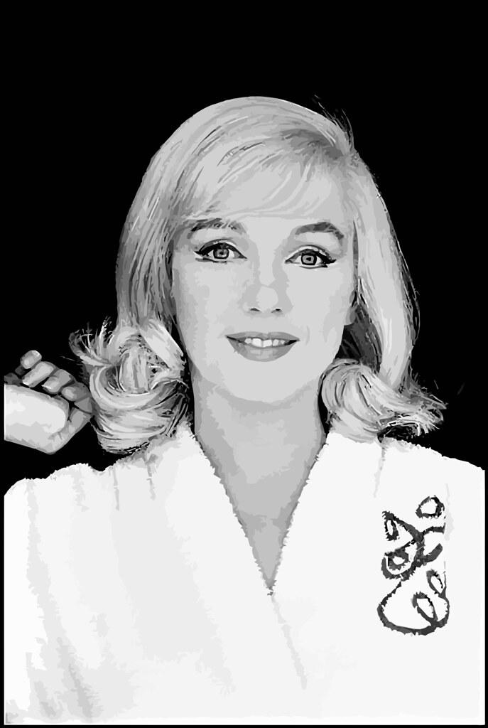 Marilyn Monroe fotografiado por Inge Morath en el set de The Misfits, 11 de julio de 1960