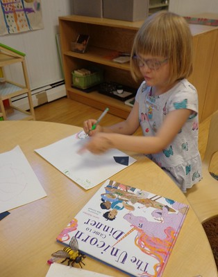writing about the unicorn