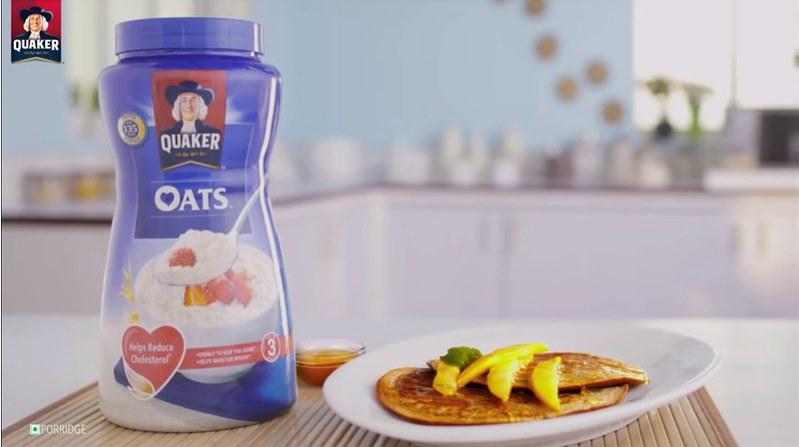 How To Make Oats Pancakes   Mango Oats Pancake Recipe   Quaker Oats