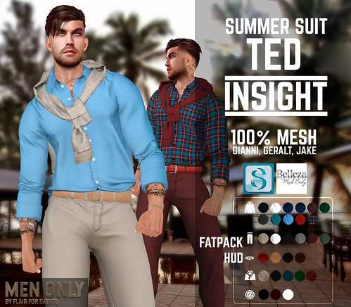[INSIGHT] Summer suit TED