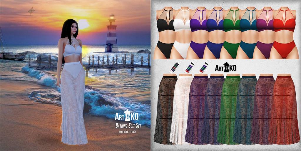Art&Ko – Bathing Suit Set – Tres Chic