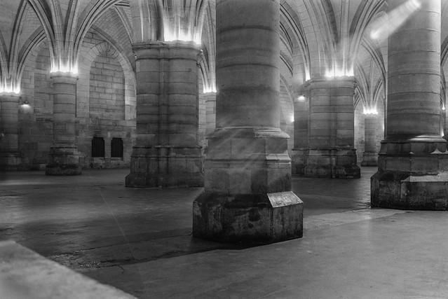 Hall of Guards, La Conciergerie, Paris, France, 1990, 90-8t-22