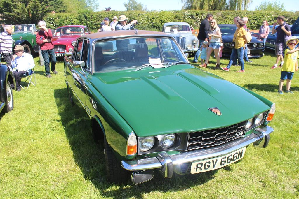 Rover 1972 3500 V8 P6 RGV 666N