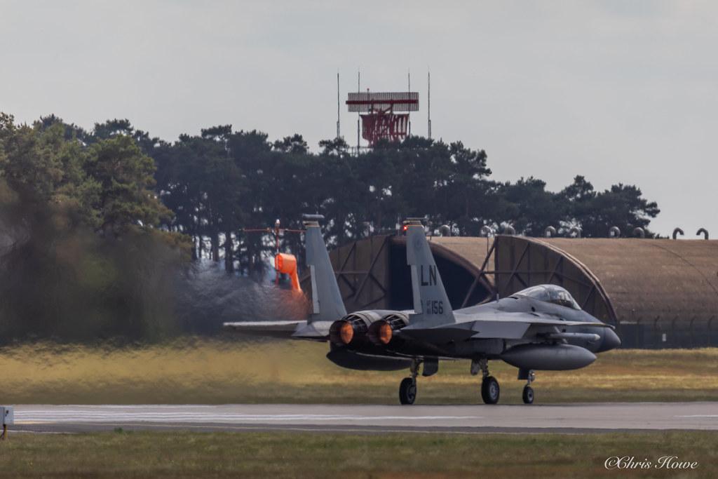 F-15C Eagle - 86-156 - USAF 493FS (48FW)