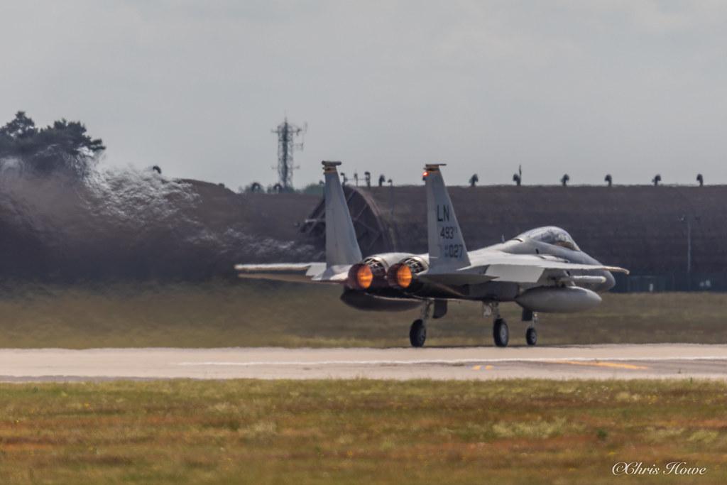 F-15C Eagle - 84-027 - USAF 493FS (48FW)