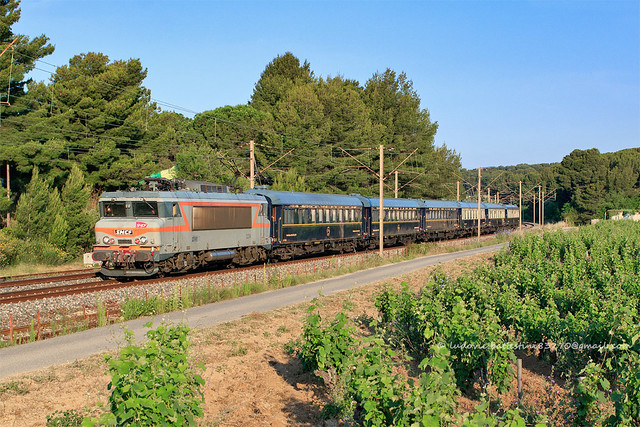 Saint-Cyr-sur-Mer / BB 22294 POE Villeneuve-Saint-Georges - Vintimille