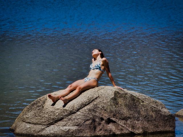 Sirenita del lago