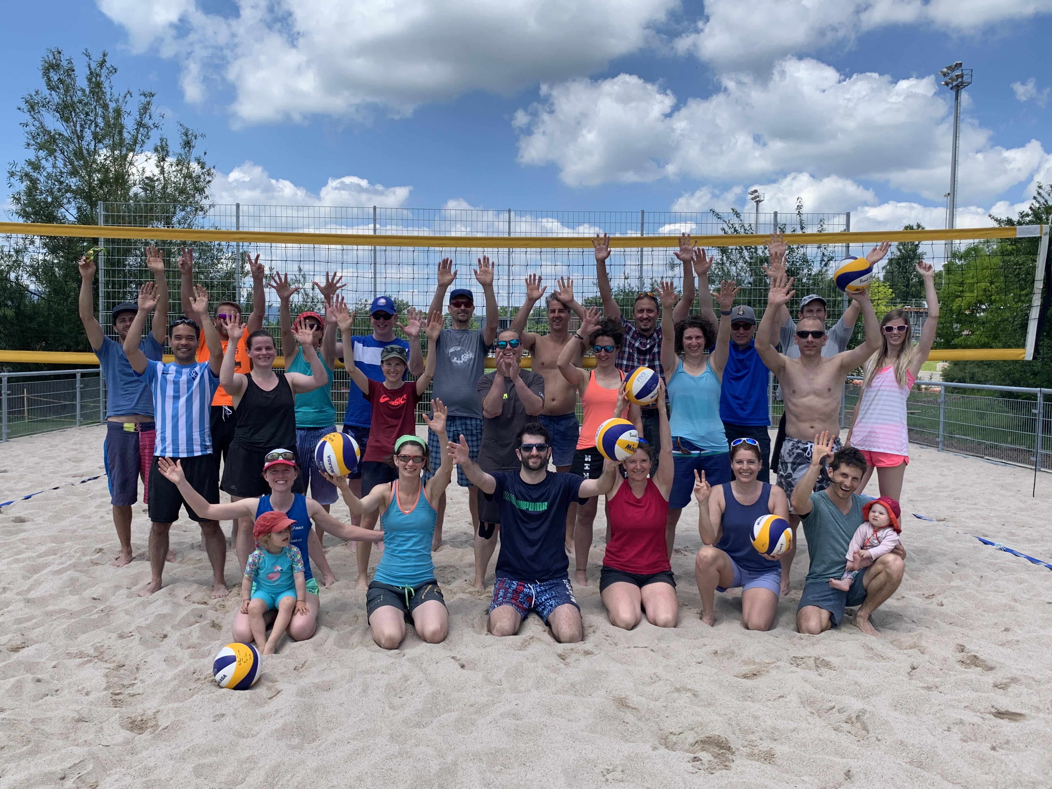 Wiedereröffnung Beachvolleyball Anlage Meilen 2021