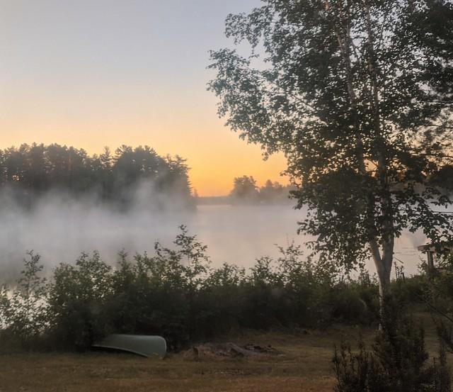 Sunrise on Bass Lake