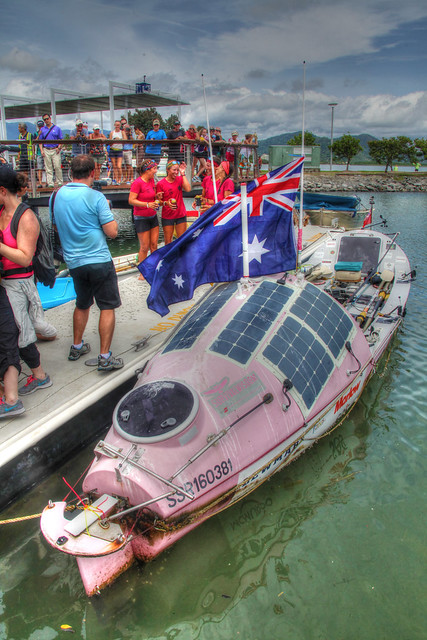 The Coxless Crew Pacific Rowers Reach Cairns 3 - Jan 25, 2016
