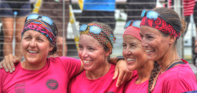 The Coxless Crew Pacific Rowers Reach Cairns 2 - Jan 25, 2016
