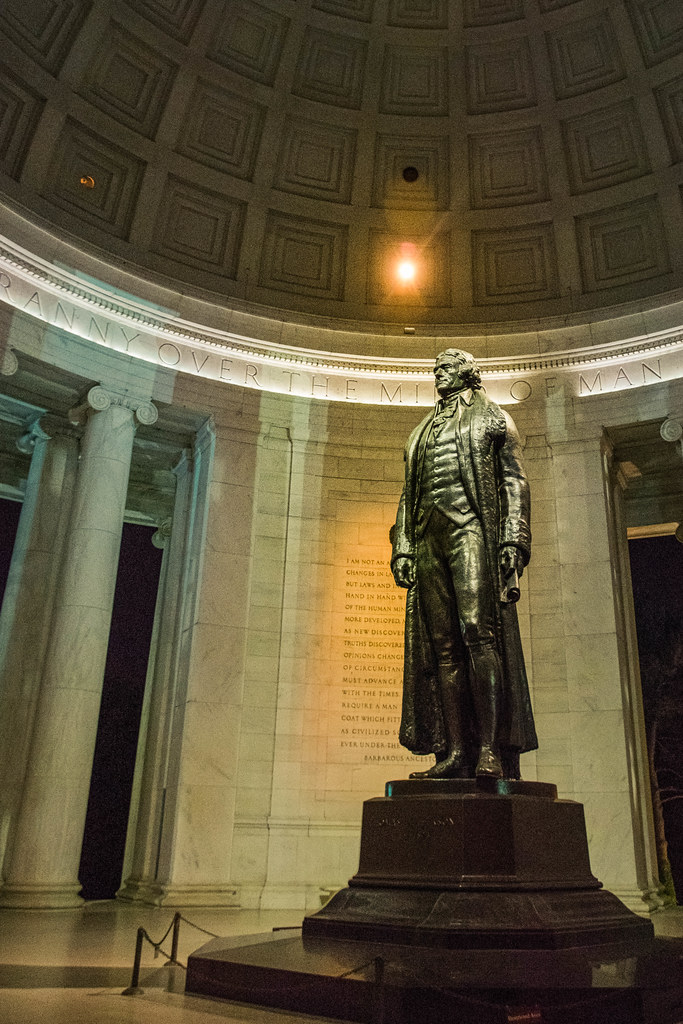 Thomas Jefferson: 'I have sworn upon the altar of God eternal hostility against every form of tyranny over the mind of man'