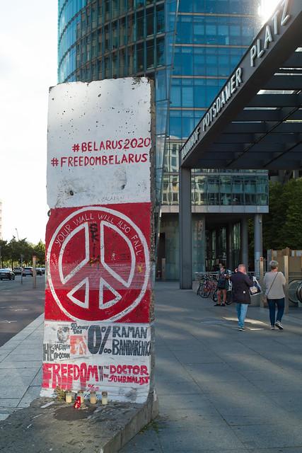 Denkmal Potsdamer Platz Belarus 2020 12.6.2021