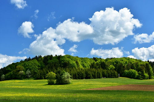 Gorgeous Landscape with clouds