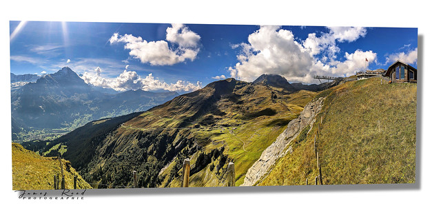 Le First - Grindelwald - Alpes Bernoises - Suisse...