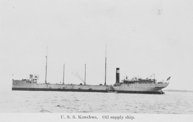 USS Kanawha Oil Supply Ship.
