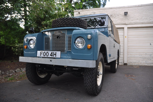 FOO 4 H 1969 Series 2A Land Rover: Completed full restoration and reconstruction Project