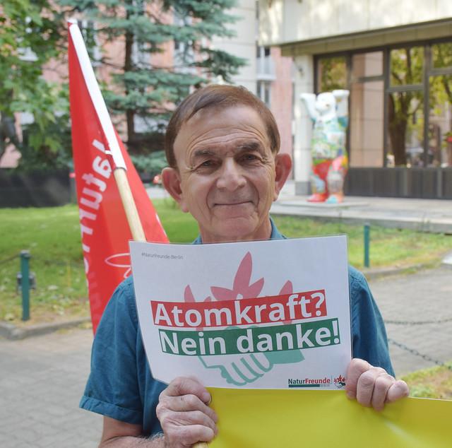 10.06.2021: Atomprogramm Bulgariens stoppen! Nein zum Neubau eines AKW in Kosloduj