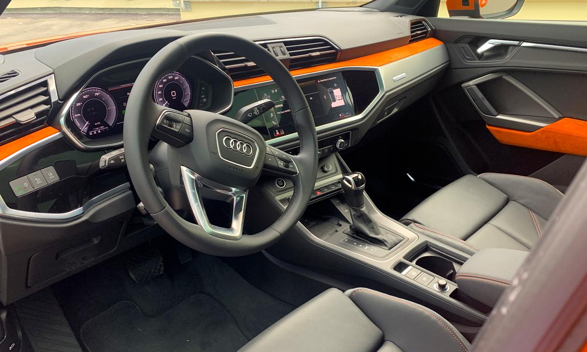 Essai Audi Q3 45 TFSI-e, le meilleur des SUV Compacts hybrides ?