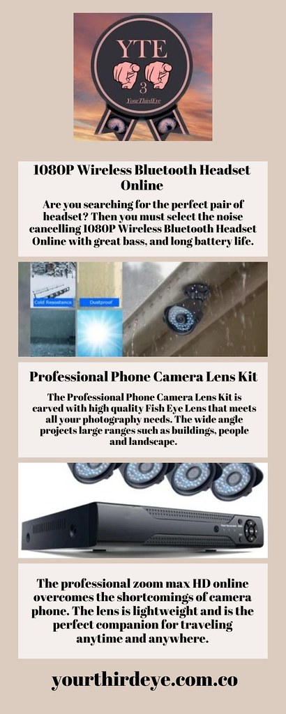 1080P Wireless Bluetooth Headset Online
