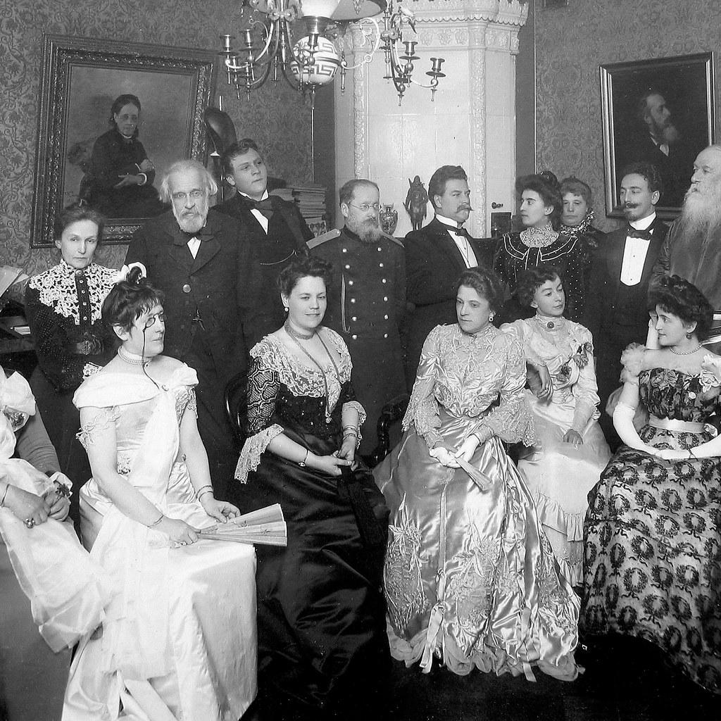 1904. Музыкальный вечер у В.В.Стасова (фрагмент)
