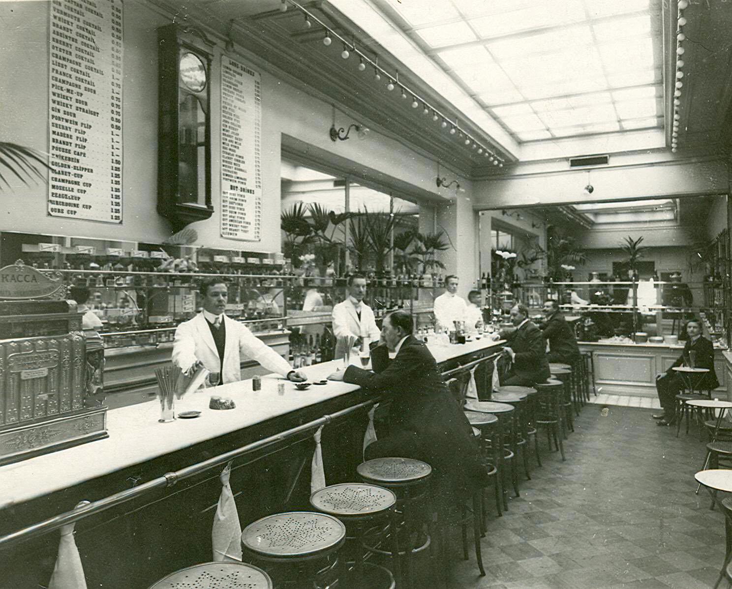 1906. Бар при ресторане «Медведь»