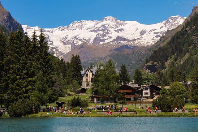 Gressoney Saint-Jean, Valle D'Aosta, Italy