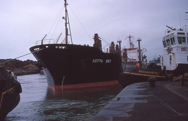 Liverpool Docks mid 80s
