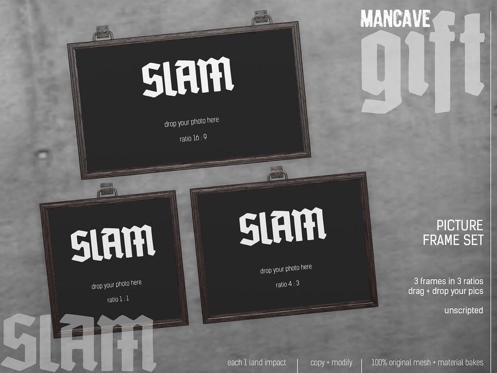 SLAM // picture frame set // GIFT @ MAN CAVE