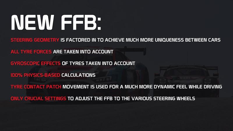 RaceRoom Force Feedback update