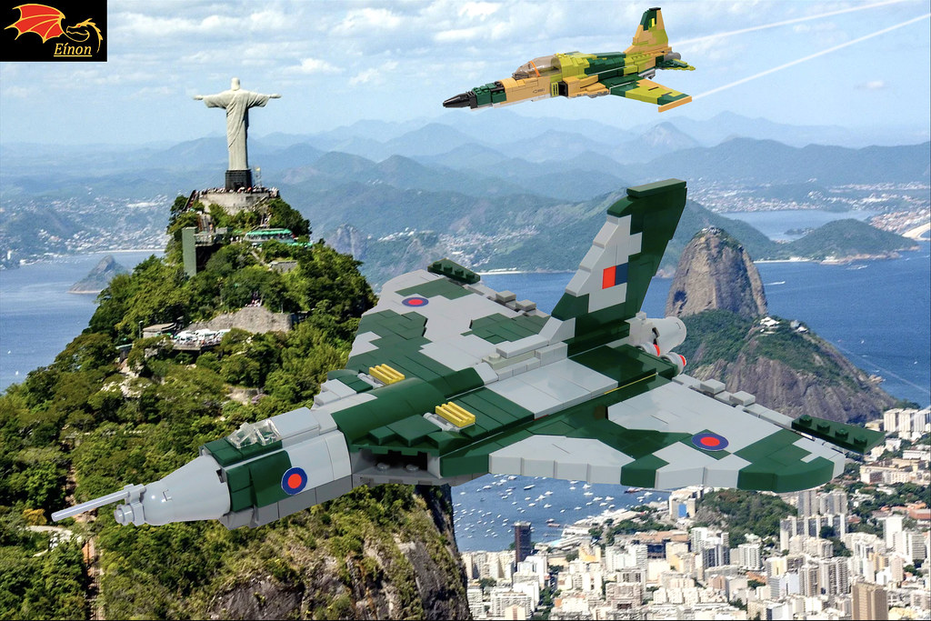 Vulcan interception over Rio