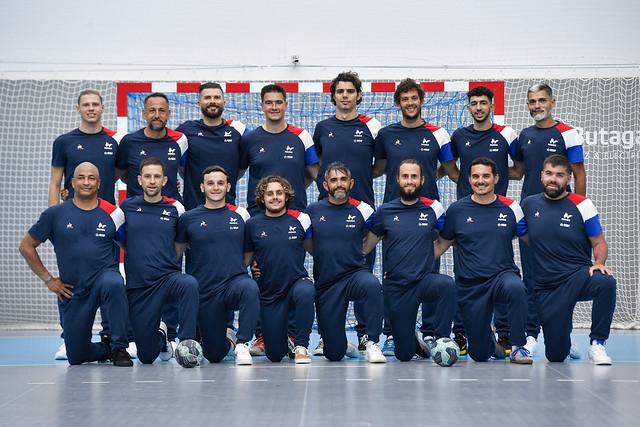 HANDBALL SOURDS / Entraînement à la Maison du Handball