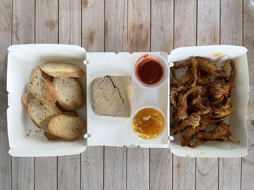Duckland's Liver Terrine and Deep-Fried Duck Tongue