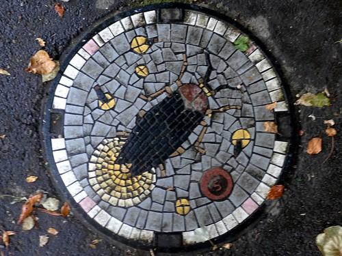 Kawasaki Kanagawa, manhole cover 9 (神奈川県川崎市のマンホール9)
