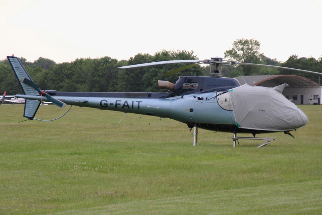 Eurocopter AS.350B3 Écureuil G-FAIT