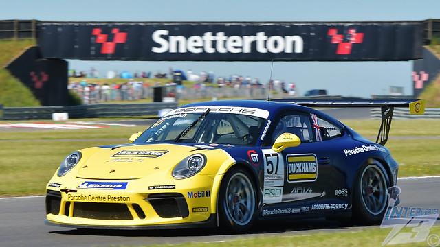 Dan Cammish, Redline Racing Porsche Carrera 911 GT3, 2021 Porsche Carrera Cup GB R1, BTCC Support Race, Snetterton, 13th June