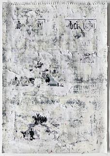 Zavier Ellis 'Freiheit XVIII', 2021 Acrylic, emulsion, spray paint, collage on paper 59.4x42cm