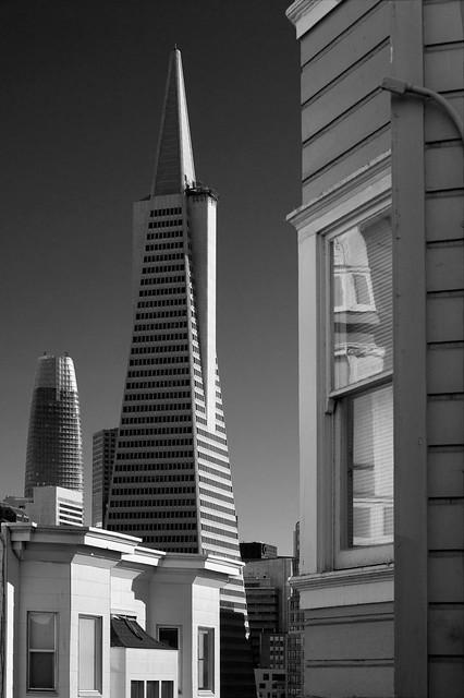 North Beach view of  San Francisco Architectural Design