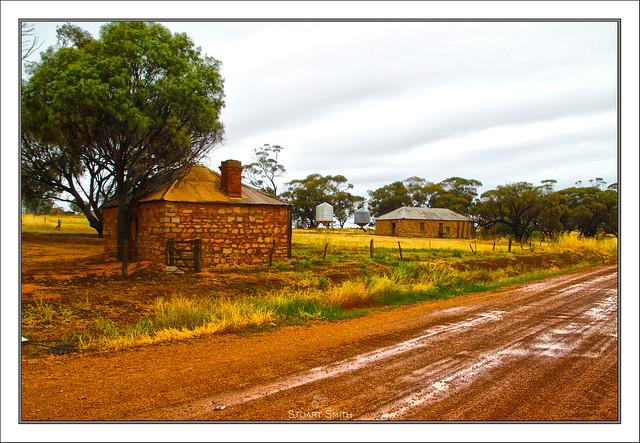 Abandoned Farm Building, York-Williams Road, Pumphreys Bridge, Western Australia