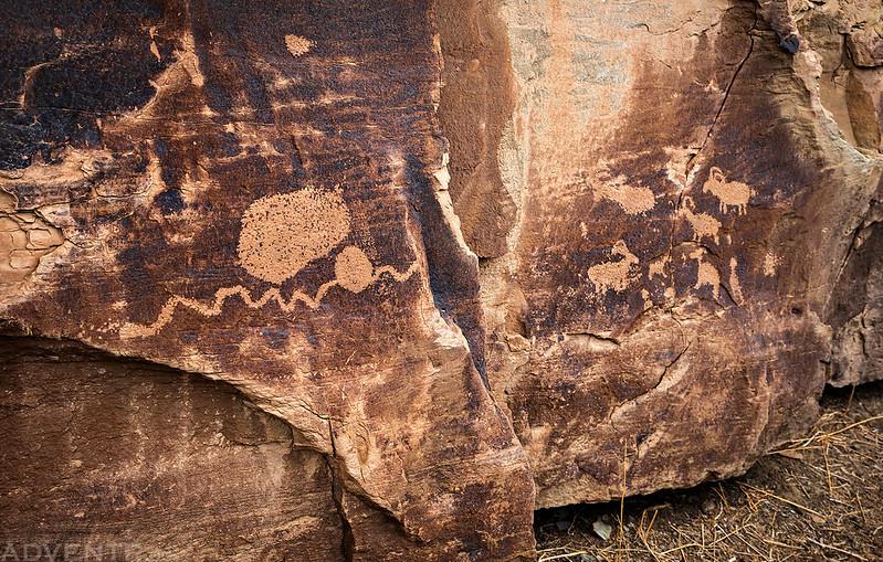 Petroglyphs Around the Corner