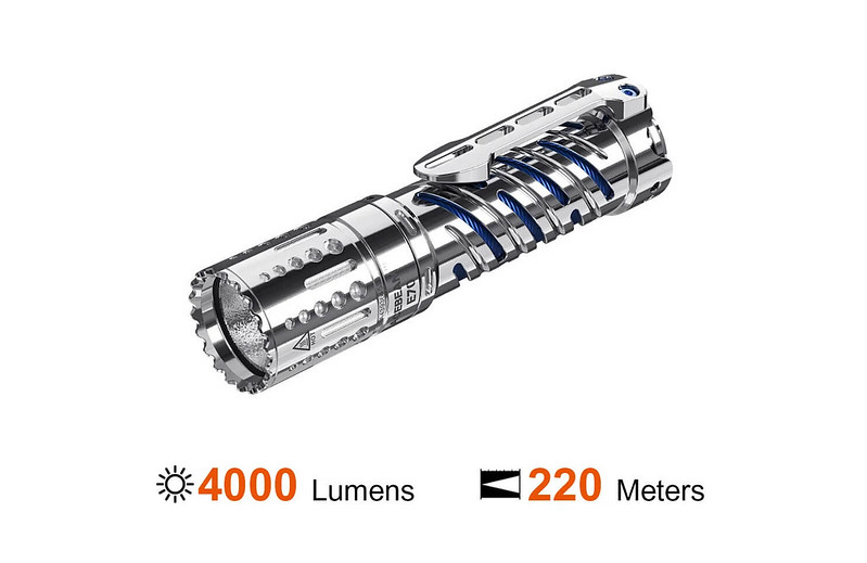 【錸特光電】ACEBEAM E70-SS 不銹鋼 精品工藝 高亮泛光 4000 流明 戰術手電筒 CREE XHP70.2 (1)