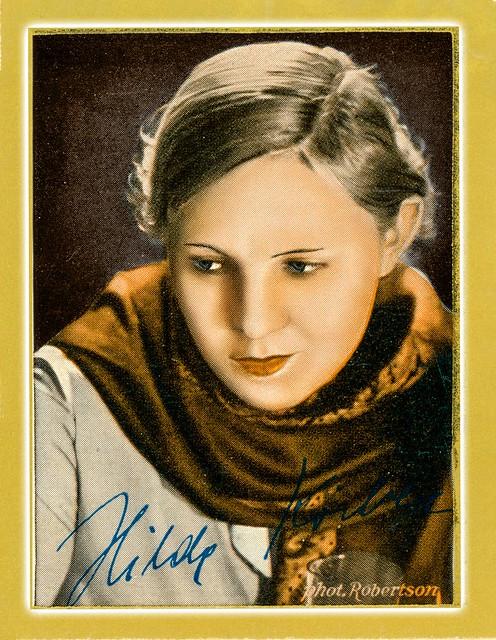 Hilde Körber, 1933 Sammelbild 117