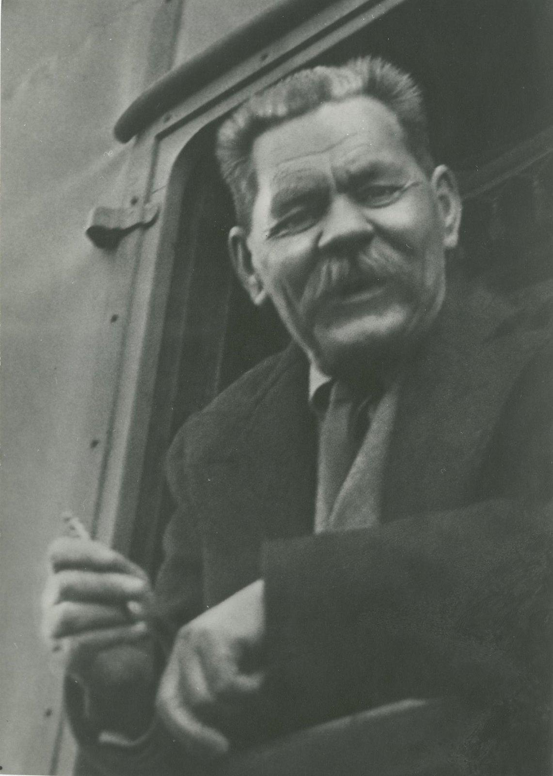 1934.  Максим Горький