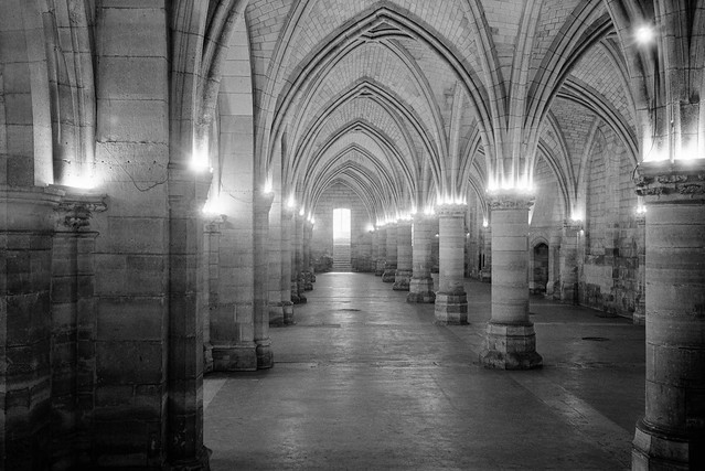 Hall of Guards, La Conciergerie, Paris, France, 1990, 90-8t-25
