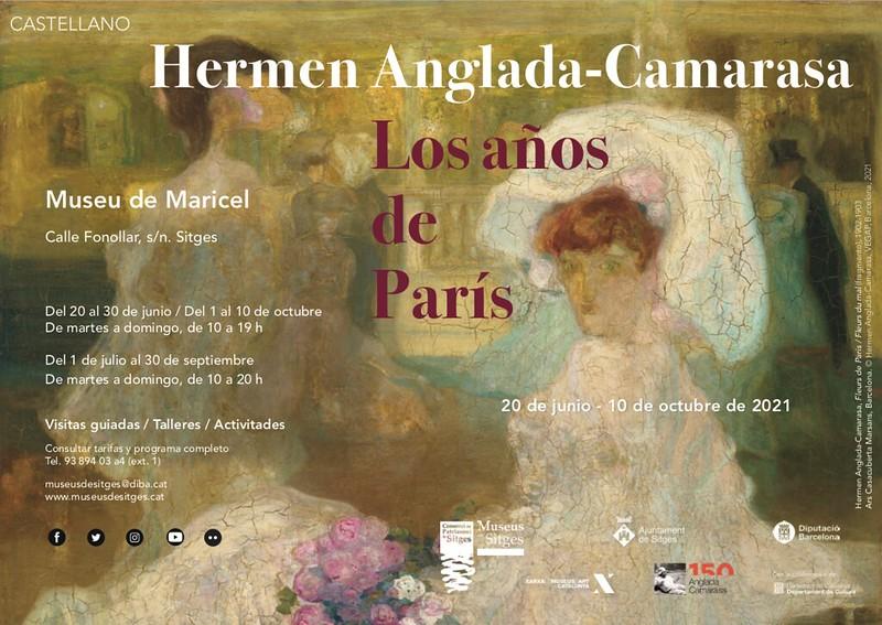 Exposición Hermen Anglada-Camarasa. Los años de París. Museos de Sitges