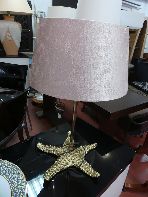2 Lampes pieds étoiles de mer