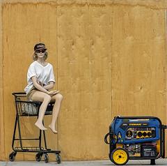 Roadside Mannequin