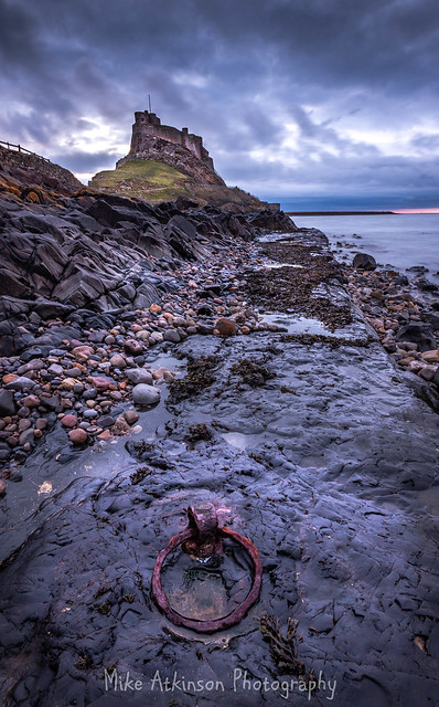 The Mooring At Lindisfarne Castle (Portrait - Revisited)